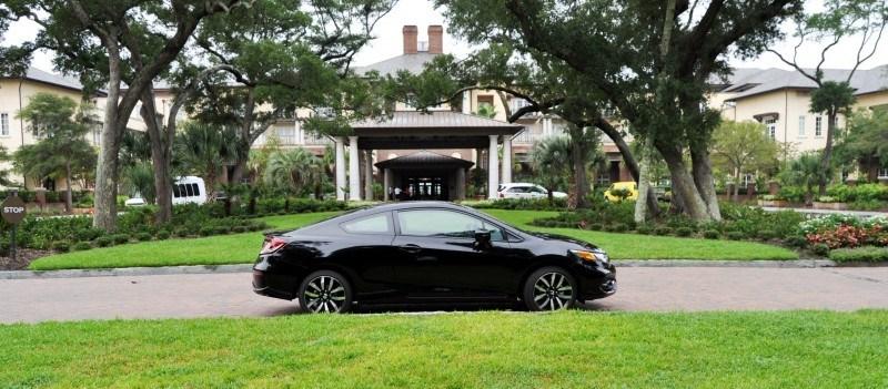 Road Test Review - 2014 Honda Civic EX-L Coupe 128