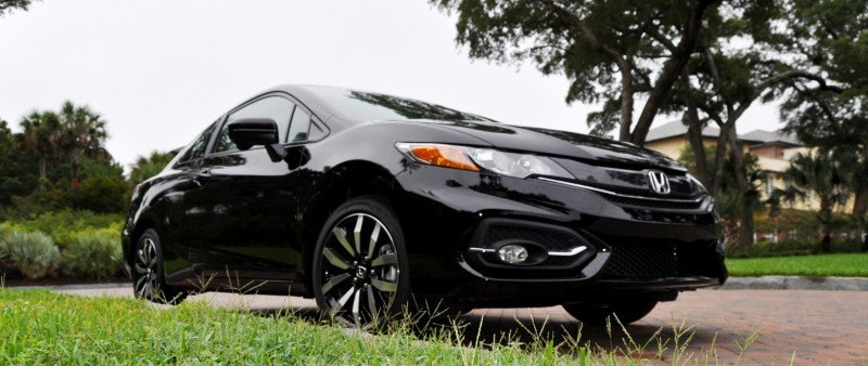 Road Test Review - 2014 Honda Civic EX-L Coupe 132