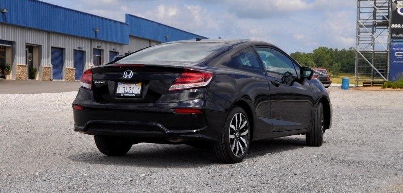 Road Test Review - 2014 Honda Civic EX-L Coupe 19