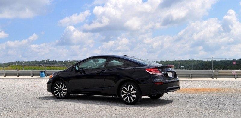 Road Test Review - 2014 Honda Civic EX-L Coupe 26