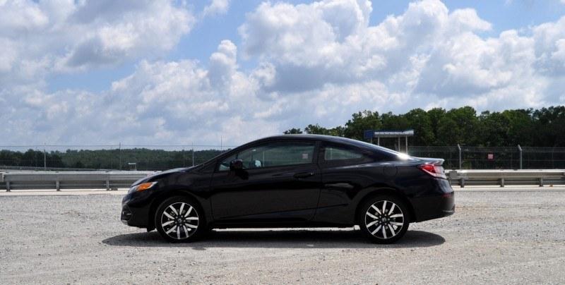 Road Test Review - 2014 Honda Civic EX-L Coupe 29