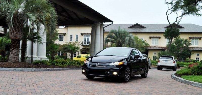 Road Test Review - 2014 Honda Civic EX-L Coupe 98