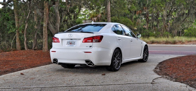 Road Test Review 2014 Lexus IS-F Is AMAZING 14