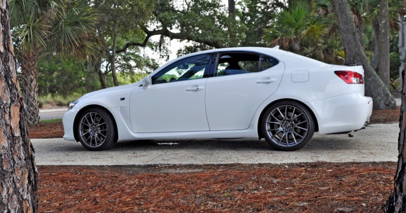 Road Test Review 2014 Lexus IS-F Is AMAZING 19