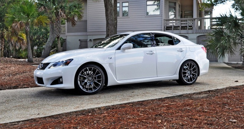 Road Test Review 2014 Lexus IS-F Is AMAZING 21