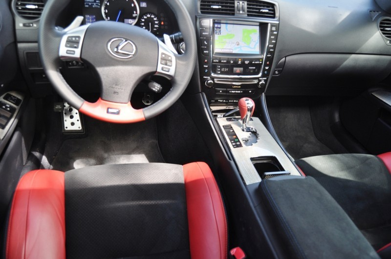 Road Test Review 2014 Lexus IS-F Is AMAZING 29