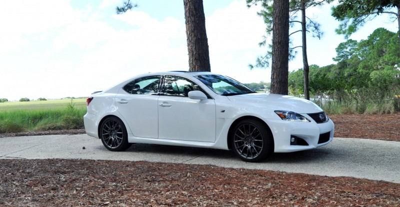 Road Test Review 2014 Lexus IS-F Is AMAZING 38