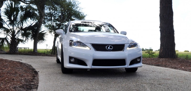 Road Test Review 2014 Lexus IS-F Is AMAZING 5