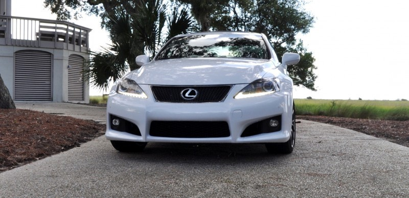 Road Test Review 2014 Lexus IS-F Is AMAZING 6