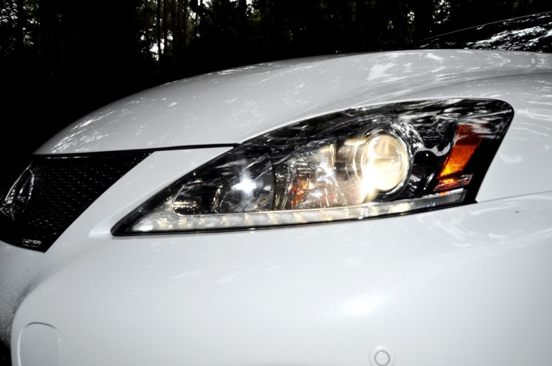 Road Test Review 2014 Lexus IS-F Is AMAZING Fun - 416HP 5.0L V8 Is Heaven in a Throttle 134