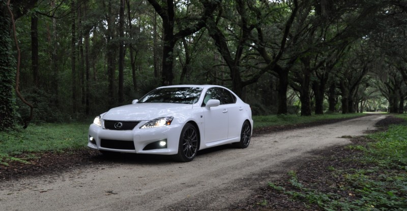 Road Test Review 2014 Lexus IS-F Is AMAZING Fun - 416HP 5.0L V8 Is Heaven in a Throttle 27