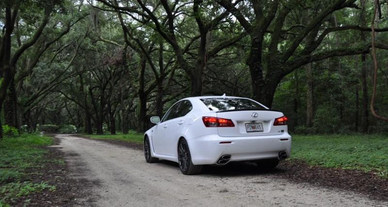 Road Test Review 2014 Lexus IS-F Is AMAZING Fun - 416HP 5.0L V8 Is Heaven in a Throttle 37