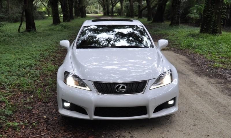 Road Test Review 2014 Lexus IS-F Is AMAZING Fun - 416HP 5.0L V8 Is Heaven in a Throttle 46