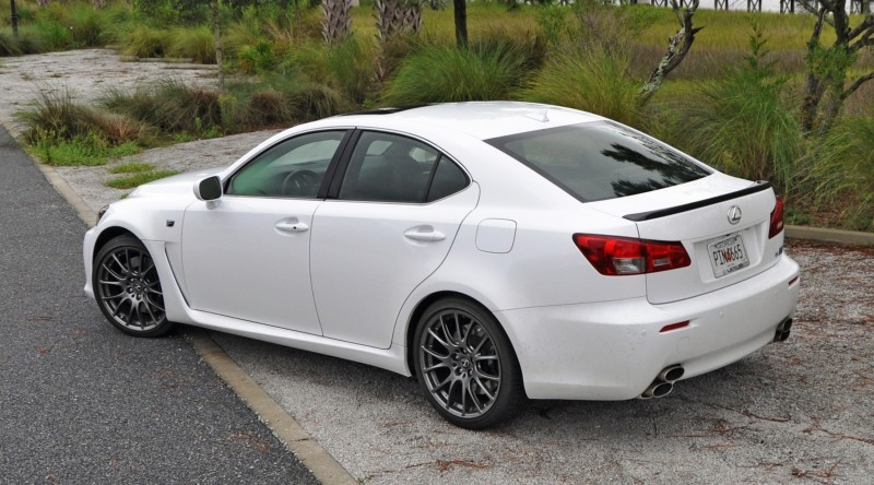 Road Test Review 2014 Lexus IS-F Is AMAZING Fun - 416HP 5_16