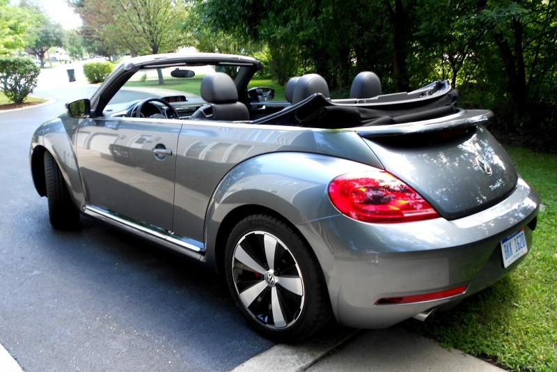 Road Test Review - 2014 Volkswagen Beetle R-Line Convertible 9