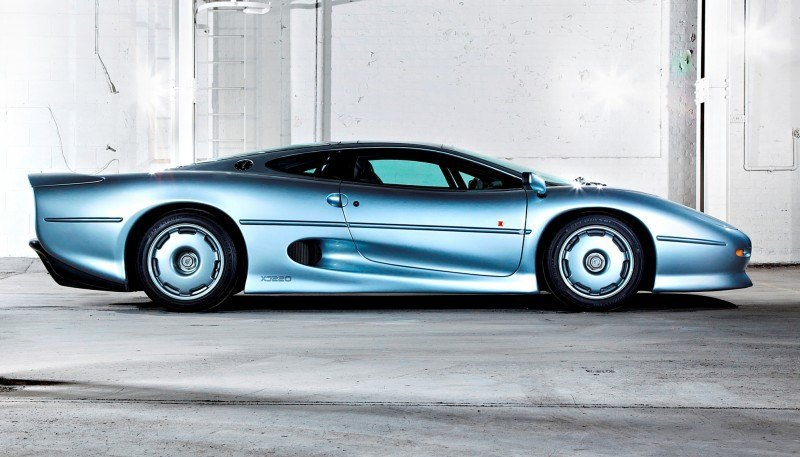 Supercar Icons - 1992 JAGUAR XJ220 Still Enchants the Eye and Mind, 22 Years Later 2