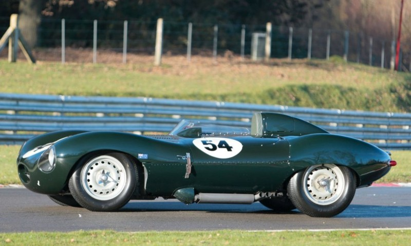 Swoopy 1955 D-type JAGUAR Tops All Comers with $5M Total in Fabulous RM Auctions Paris Gala 17