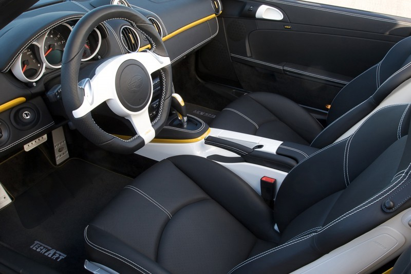 TECHART for Porsche Boxster and Cayman 70