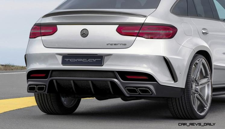 TopCar Mercedes-Benz GLE Coupe INFERNO 3