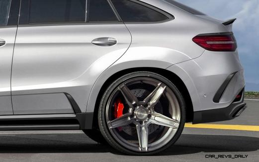 TopCar Mercedes-Benz GLE Coupe INFERNO 6