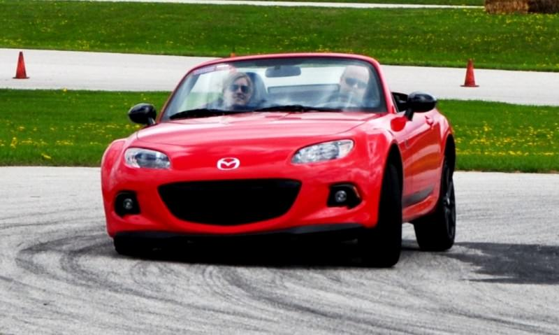Track Test Review - 2014 Mazda MX-5 Club Hardtop at Road America Autocross8