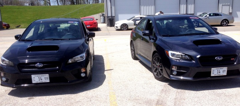 Track Test Review - 2015 Subaru WRX STI Is Brilliantly Fast, Grippy and Fun on Autocross 28