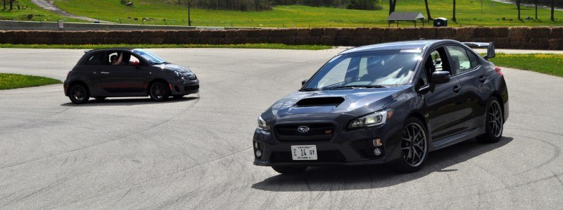 Track Test Review - 2015 Subaru WRX STI Is Brilliantly Fast, Grippy and Fun on Autocross 5
