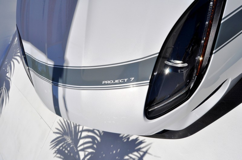 USA Debut - 2014 JAGUAR F-TYPE Project 7 Speedster! 3.8s to 60MPH, 575HP, 250 Copies Max 9