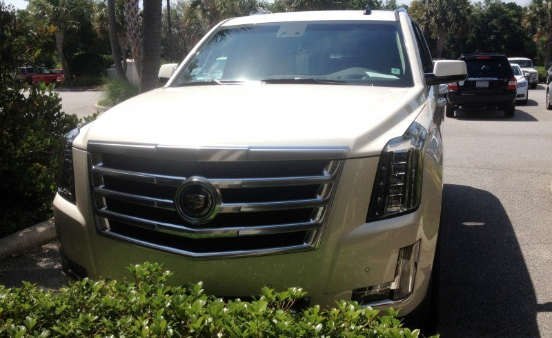 Update1 New Photos! 2015 Cadillac Escalade - Majors On Interior Upgrades - Leathers, Colors, Specs and Pricing 5