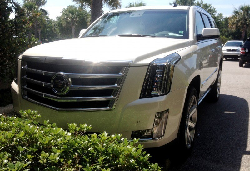 Update1 New Photos! 2015 Cadillac Escalade - Majors On Interior Upgrades - Leathers, Colors, Specs and Pricing 6