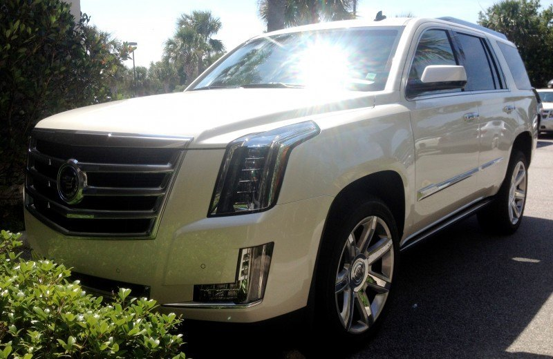 Update1 New Photos! 2015 Cadillac Escalade - Majors On Interior Upgrades - Leathers, Colors, Specs and Pricing 7
