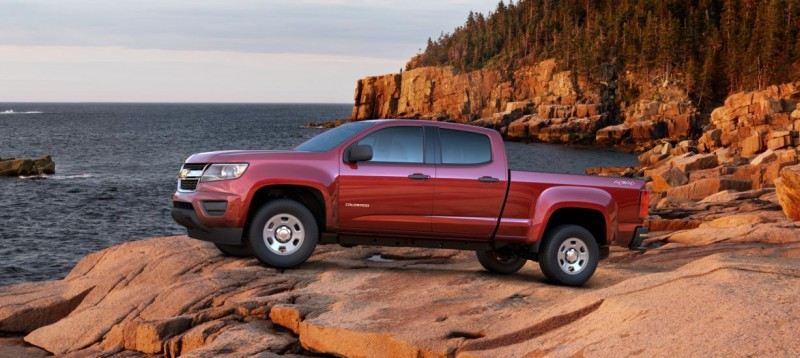 Updated With Pricing and Colors - 2015 Chevrolet Colorado Z71 Brings Cool Style, Big Power 14