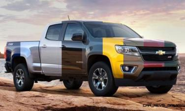 Updated With Pricing and Colors - 2015 Chevrolet Colorado Z71 Brings Cool Style, Big Power 21_001-horz