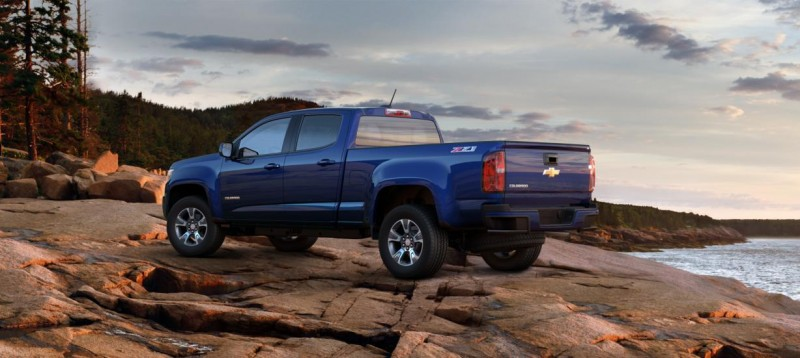 Updated With Pricing and Colors - 2015 Chevrolet Colorado Z71 Brings Cool Style, Big Power 23