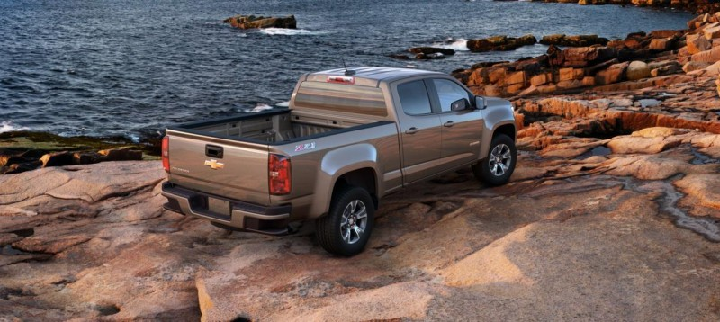 Updated With Pricing and Colors - 2015 Chevrolet Colorado Z71 Brings Cool Style, Big Power 52