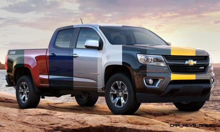 Updated With Pricing and Colors - 2015 Chevrolet Colorado Z71 Brings Cool Style, Big Power 5_001-horz
