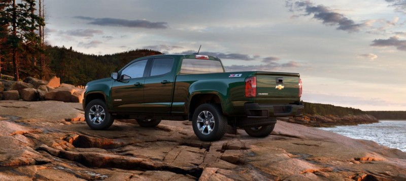 Updated With Pricing and Colors - 2015 Chevrolet Colorado Z71 Brings Cool Style, Big Power 7