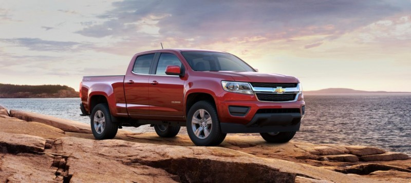 Updated With Pricing and Colors - 2015 Chevrolet Colorado Z71 Brings Cool Style, Big Power 9