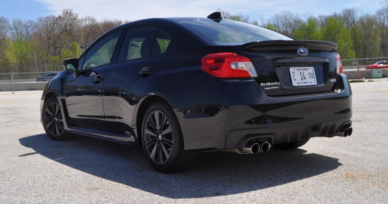 Updated with 37 High-Res Photos - Track Review - 2015 Subaru WRX Automatic 19