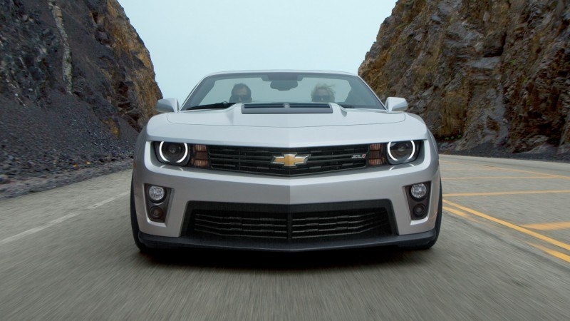 Updated with 40 New Photos - 2014 Chevrolet Camaro ZL1 Convertible Blasts Off for 3.9-second 60-mph Sprints 60