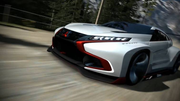 Vision GranTurismo Scores a Super Evo! Mitsubishi Concept XR-PHEV is Super Widetrack Racer 47