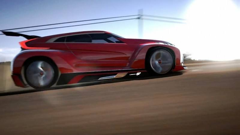 Vision GranTurismo Scores a Super Evo! Mitsubishi Concept XR-PHEV is Super Widetrack Racer 52