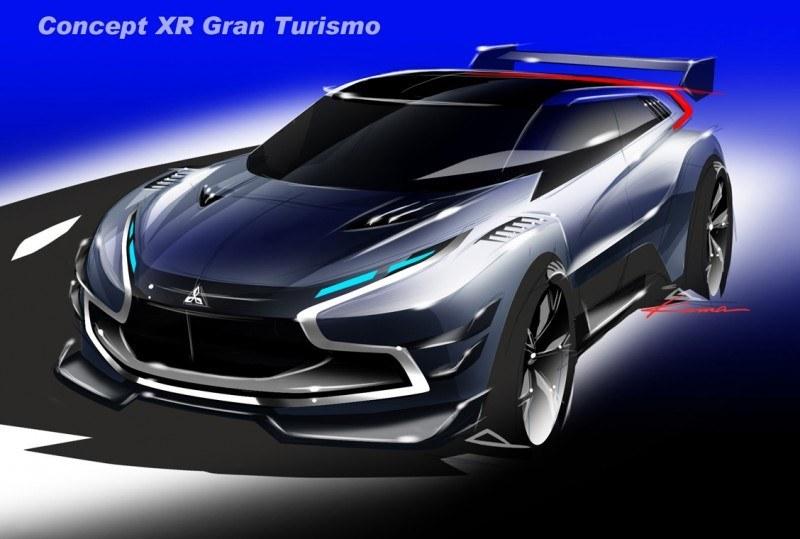 Vision GranTurismo Scores a Super Evo! Mitsubishi Concept XR-PHEV is Super Widetrack Racer 65