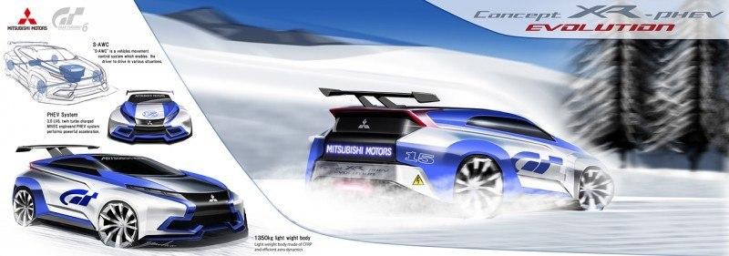 Vision GranTurismo Scores a Super Evo! Mitsubishi Concept XR-PHEV is Super Widetrack Racer 78
