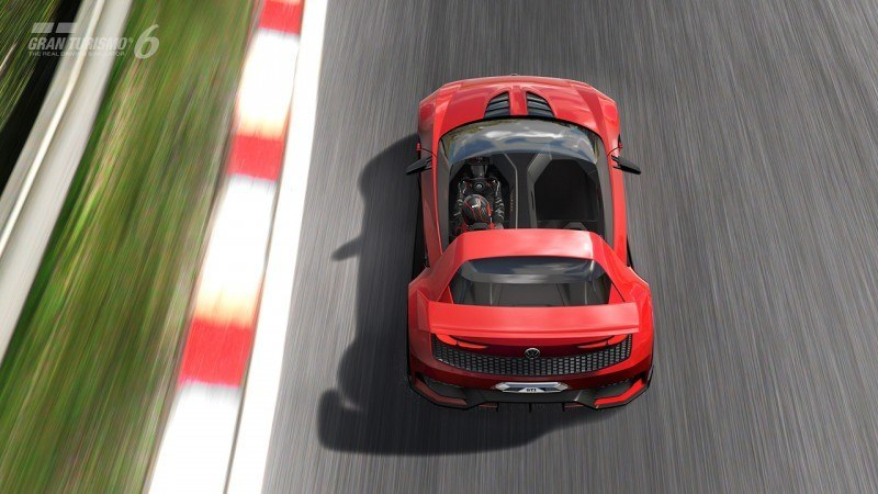 Volkswagen GTI Roadster Vision Gran Turismo Scores 4Motion and 500HP Twin-Turbo VR6 39