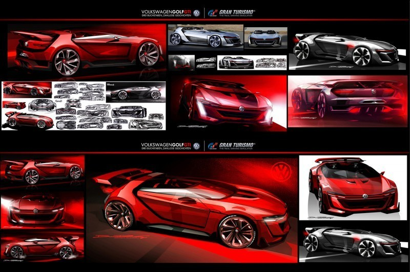Volkswagen GTI Roadster Vision Gran Turismo Scores 4Motion and 500HP Twin-Turbo VR6 42