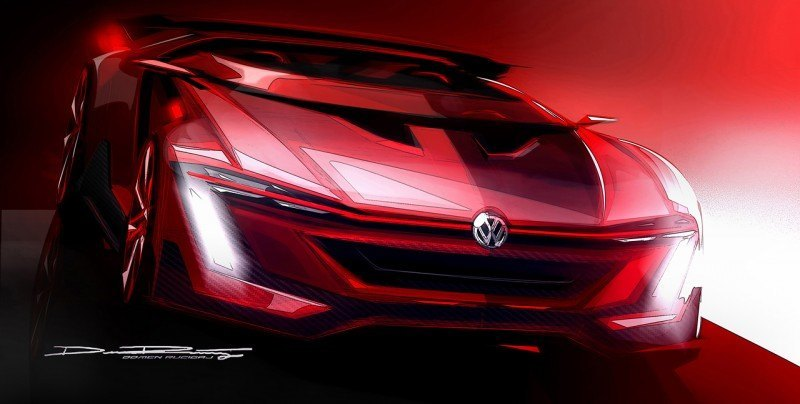 Volkswagen GTI Roadster Vision Gran Turismo Scores 4Motion and 500HP Twin-Turbo VR6 44
