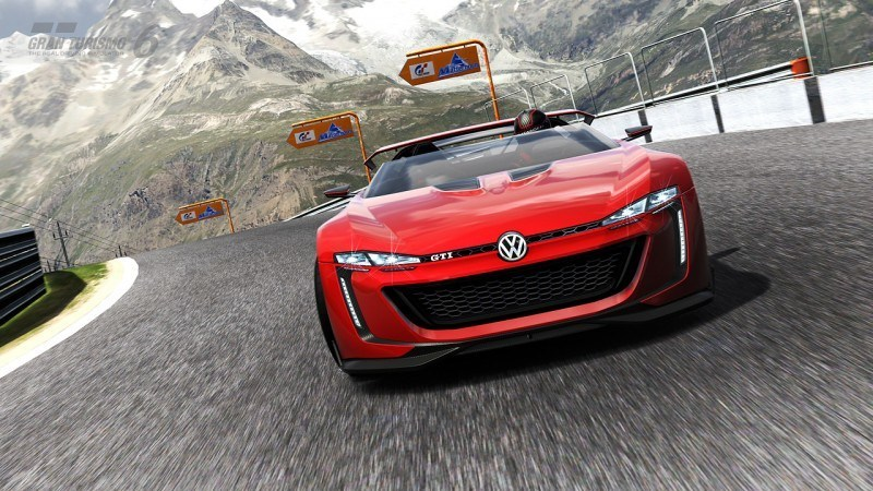 Volkswagen GTI Roadster Vision Gran Turismo Scores 4Motion and 500HP Twin-Turbo VR6 46