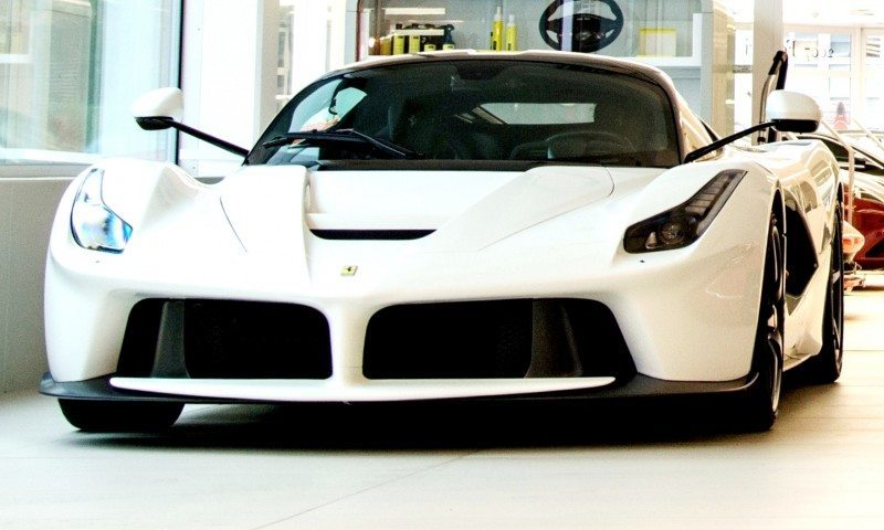 White LaFerrari Snapped in Geneva This Week by N-D Photography 10