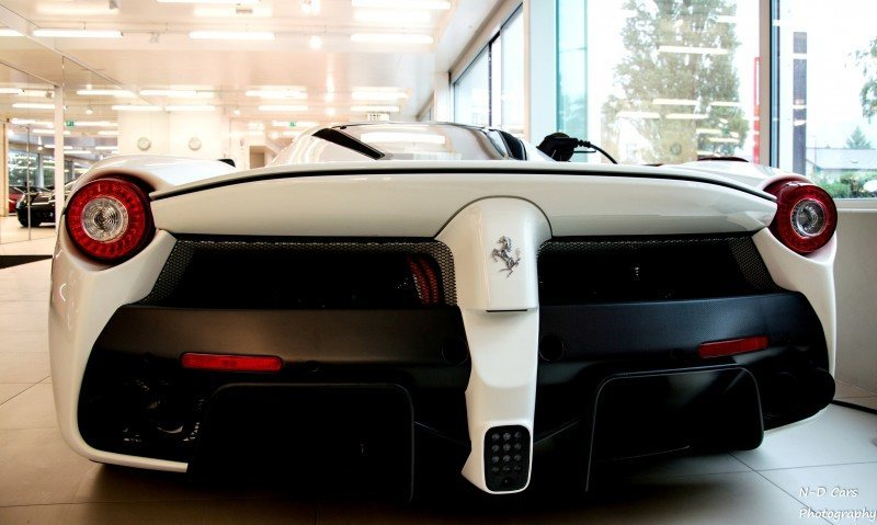 White LaFerrari Snapped in Geneva This Week by N-D Photography 5